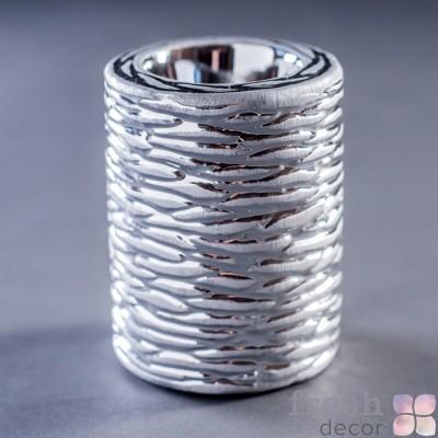 аренда цилиндрического керамического подсвечника 1