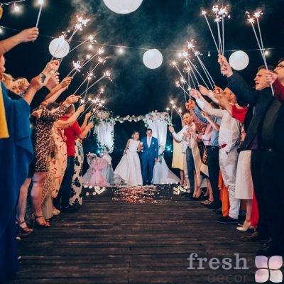 огни на свадьбу бенгальские