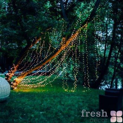 светодиодная гирлянда нить