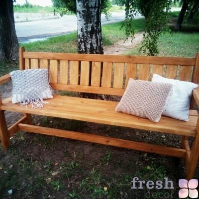 скамейка для аренды на фотозону