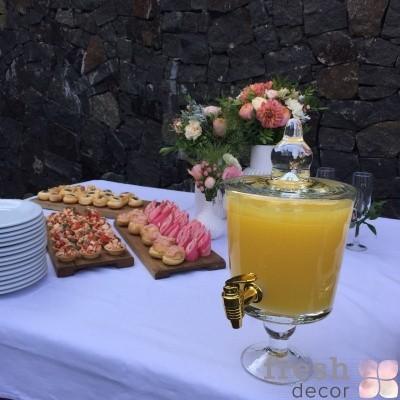 лимонадник с краником из золота